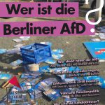 Antifa-Tresen 3.8.16 und Vortrag zur Berliner AfD